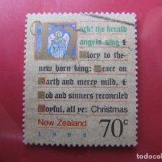 Sellos: +NUEVA ZELANDA, 1988, NAVIDAD, YVERT 1001. Lote 222699533