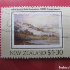 Sellos: +NUEVA ZELANDA, 1988, PATRIMONIO NEOZELANDES, YVERT 1009. Lote 222699833