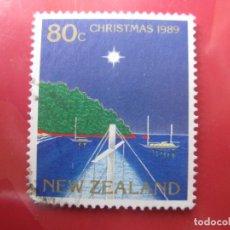 Sellos: +NUEVA ZELANDA, 1989, NAVIDAD, YVERT 1043. Lote 222740951
