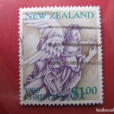 Sellos: +NUEVA ZELANDA, 1990, NAVIDAD, YVERT 1085. Lote 222742205