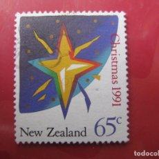 Sellos: +NUEVA ZELANDA, 1991, NAVIDAD, YVERT 1149. Lote 222742342