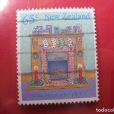 Sellos: +NUEVA ZELANDA, 1992,NAVIDAD, YVERT 1202. Lote 222743585