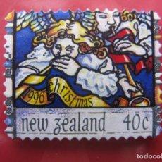 Sellos: +NUEVA ZELANDA, 1996, NAVIDAD, YVERT 1497. Lote 222744116