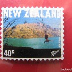 Sellos: +NUEVA ZELANDA, 2001, CIEN AÑOS DE TURISMO, YVERT 1852. Lote 222744700