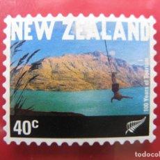 Sellos: +NUEVA ZELANDA, 2001,CIEN AÑOS DE TURISMO, YVERT 1852. Lote 222744841