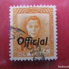 Sellos: +NUEVA ZELANDA, 1946, SELLO SOBRECARGADO YVERT 100 DE SERVICIO. Lote 222747253