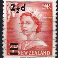 Francobolli: NUEVA ZELANDA 1961 - ISABEL II, SOBRECARGADO - USADO. Lote 224454280