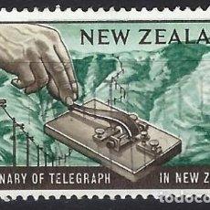Francobolli: NUEVA ZELANDA 1962 - CENTENARIO DEL TELEGRAFO - USADO. Lote 224470466