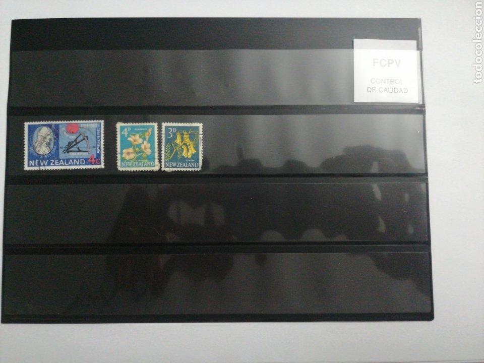 Sellos: Lote de 35 sellos de New Zealand - Foto 2 - 229232870