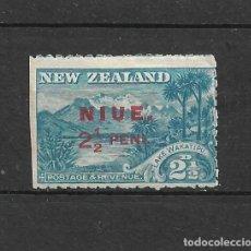 Sellos: NUEVA ZELANDA - NIUE * MH - 7/8. Lote 235318510