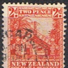 Sellos: NUEVA ZELANDA // YVERT196 // 1935 ... USADO. Lote 241959450