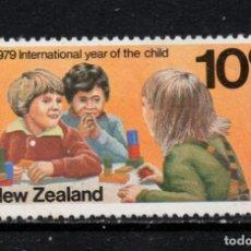Sellos: NUEVA ZELANDA 745** - AÑO 1979 - AÑO INTERNACIONAL DEL NIÑO. Lote 246535135
