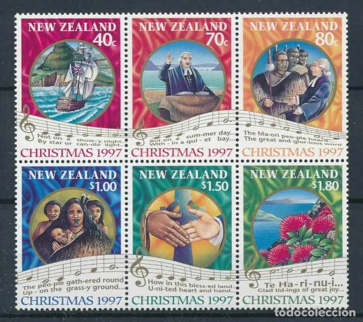 NUEVA ZELANDA 1997 IVERT 1554/9 *** NAVIDAD (Sellos - Extranjero - Oceanía - Nueva Zelanda)