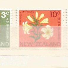 Sellos: NUEVA ZELANDA - NAVIDAD 1974 - 3 VALORES NUEVOS. Lote 254303845