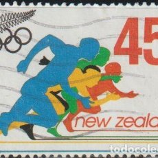 Sellos: NUEVA ZELANDA 1992 SCOTT 1093 SELLO º JUEGOS OLIMPICOS BARCELONA SPRINTERS MICHEL 1219 YVERT 1163. Lote 268939679