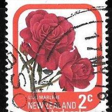 Sellos: NUEVA ZELANDA 1975. ROSAS DE JARDÍN. LILLI MARLENE. YT 646. Lote 276708678