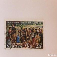 Timbres: NUEVA ZELANDA SELLO USADO. Lote 288001508