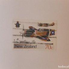 Timbres: NUEVA ZELANDA SELLO USADO. Lote 288001593