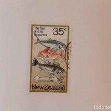 Timbres: NUEVA ZELANDA SELLO USADO. Lote 288001808