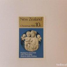 Timbres: NUEVA ZELANDA SELLO USADO. Lote 288001908