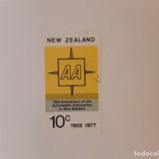 Timbres: NUEVA ZELANDA SELLO USADO. Lote 288002063