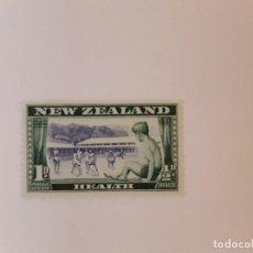 Timbres: NUEVA ZELANDA SELLO USADO. Lote 288002198