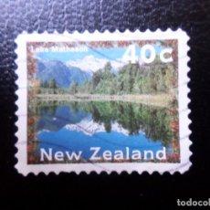 Sellos: NUEVA ZELANDA, 1996, PAISAJES, LAGO WAKATIPU, YVERT 1462. Lote 288996038
