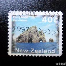 Sellos: NUEVA ZELANDA, 1996, PAISAJES, ISLA PIERCI, YVERT 1466. Lote 288996418