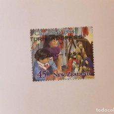Sellos: NUEVA ZELANDA SELLO USADO. Lote 293179118