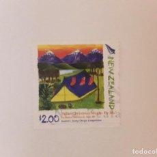 Selos: AÑO 2006 NUEVA ZELANDA SELLO USDO. Lote 295300718