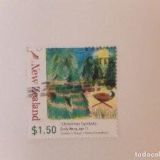 Selos: AÑO 2007 NUEVA ZELANDA SELLO USDO. Lote 295300743