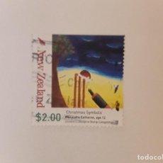 Selos: AÑO 2007 NUEVA ZELANDA SELLO USADO. Lote 295300838