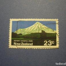 Sellos: NUEVA ZELANDA - MONTAÑAS Y VOLCANES - PARQUE NACIONAL EGMONT.. Lote 295785458