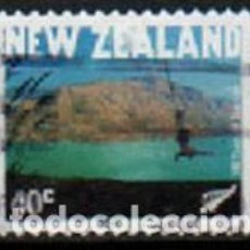 Sellos: NUEVA ZELANDA Nº 2008, CENTENARIO DEL TURISMO, USADO. Lote 296688978
