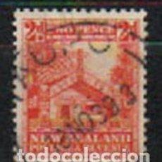 Sellos: NUEVA ZELANDA IVERT Nº 196 (AÑO 1935), CASA MAON, USADO. Lote 296711658