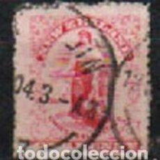 Sellos: NUEVA ZELANDA IVERT Nº 136 (AÑO 1909), IMAGEN ALEGORICA, USADO. Lote 296712398