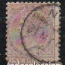 Sellos: NUEVA ZELANDA IVERT Nº 52 (AÑO 1873), LA REINA VICTORIA, USADO. Lote 296713583