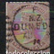 Sellos: NUEVA ZELANDA IVERT Nº 54 (AÑO 1873), LA REINA VICTORIAT, USADO. Lote 296712913