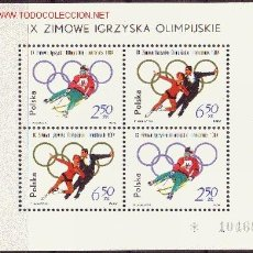 Sellos: POLONIA HB 38*** - AÑO 1964 - JUEGOS OLIMPICOS DE INVIERNO DE INSBRUCK. Lote 25036710