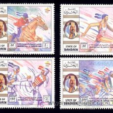 Sellos: BAHREIN 1992 445/48 DISCIPLINAS OLIMPICAS 4V. B-92 I. Lote 4232071