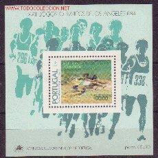 Timbres: PORTUGAL HB 46** - AÑO 1984 - JUEGOS OLÍMPICOS DE LOS ANGELES. Lote 26969089