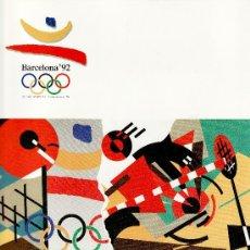 Sellos: ESPAÑA ALBUM OFICIAL COOB 92, BARCELONA 1992 SERIES PRE-OLIMPICAS. Lote 27210341