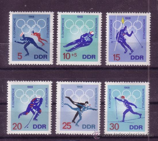 Alemania Oriental 1031 36 Ano 1968 Jueg Comprar Sellos De