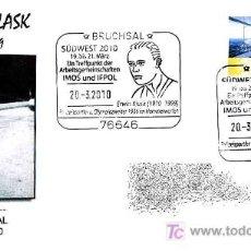 Sellos: MATASELLOS DE ERWIN BLASK - OLIMPIADAS 1936 - MEDALLA PLATA LANZAMIENTO DE MARTILLO. Lote 18576209
