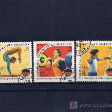 Sellos: MADAGASCAR OLIMPIADAS BARCELONA 92 USADOS . Lote 18781943