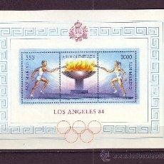 Sellos: SAN MARINO HB 12*** AÑO 1984 - JUEGOS OLÍMPICOS DE LOS ANGELES . Lote 25011841