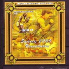 Timbres: MOZAMBIQUE HB 49 - AÑO 2001 - VENCEDORES DE LOS JUEGOS OLIMPICOS DE SYDNEY - TENIS - SERENA WILLIAMS. Lote 25483134