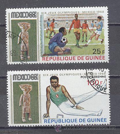 REPUBLICA DE GUINEA - OLIMPIADAS (Sellos - Temáticas - Olimpiadas)