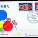 Sellos: ANDORRA FRANCESA AÑO 1969 YV 194/95 SPD - EUROPA. Lote 27798571