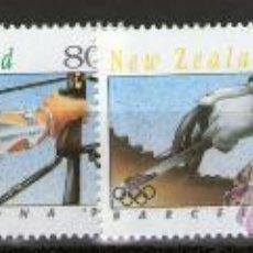Sellos: NUEVA ZELANDA - JUEGOS OLÍMPICOS BARCELONA-92. Lote 32448479